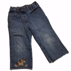🧚♀4/$25GYMBOREE Jeans with Horse 18-24M